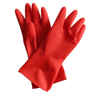 Kitchen Household Rubber Gloves For Cleaning And Washing