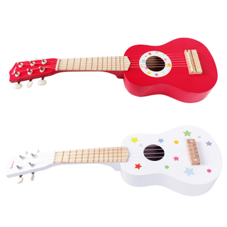 High Quality Wooden Children Play Guitar Toy Educational For Kids
