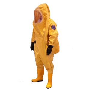 Disposable Chemical Protective Coverall Suit with Fully Encapsulating