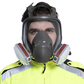 Anti Gas Full Face Protection Mask For Coronavirus