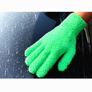 Green Eco Friendly Household Reusable Dusting Cleaning Car Gloves