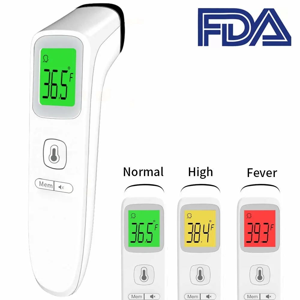 FDA Approved Infrared Medical Forehead Thermometer
