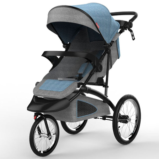 Foldable Baby Stroller Lightweight With Big Wheels